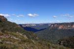 Auf dem Weg zum Mt. Banks, Blue Mountains