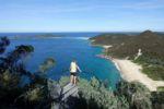 Blick vom Tomaree Head in Nelson Bay