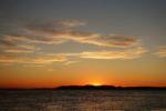 Sonnenuntergang in Hat Head