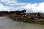 Wrack der S.S. Maheno auf Fraser Island