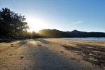 Sonneuntergang am Cape Hillsborough