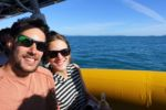 Auf dem Ocean Raft Richtung Whitsundays