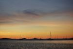 Sonnenuntergang in Airlie Beach