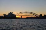 Sonnenuntergang am Macquarie's Chair