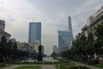 Die Fussgängerzone von Ho Chi Minh City