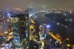 Blick auf Ho Chi Minh City vom Bitexco Tower