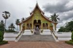 Tempel im ehemaligen Königspalast von Luang Prabang
