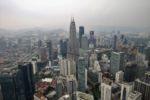 Kuala Lumpur City Center von oben