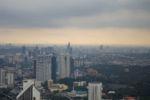 Vom Kuala Lumpur Tower überblickt man die gesamte Stadt