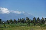 Blick auf den Mount Rinjani