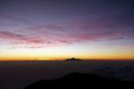 Kurz bevor die Sonne hinter dem Mt. Rinjani aufgeht