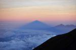 Schatten des Gunung Agung