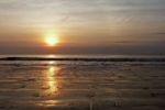 Der letzte Sonnenuntergang unserer Reise...