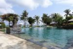 Pool unseres Hotels in Jimbaran
