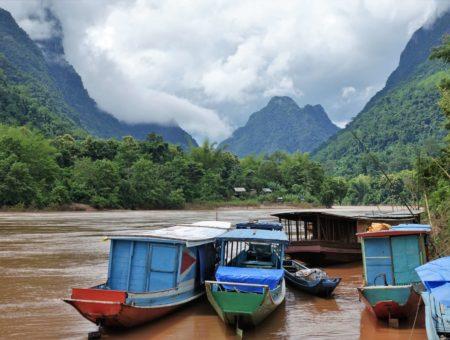 Herrliche Landschaften im idyllischen Norden von Laos