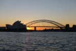 Sonnenuntergang am Macquarie's Chair