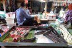 Marktbesuch vor dem Kochen