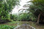 In den engen Kanälen des Mekong Deltas