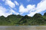 Auf dem Fluss Richtung Phong Nha Cave