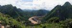 Ein wunderbares Panorama mit Nong Kiao