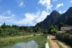 Idyllische Dörfer rund um Vang Vieng