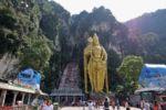 Eingang zu den Batu Caves