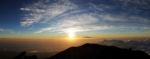 Sonnenaufgang auf dem Gunung Agung